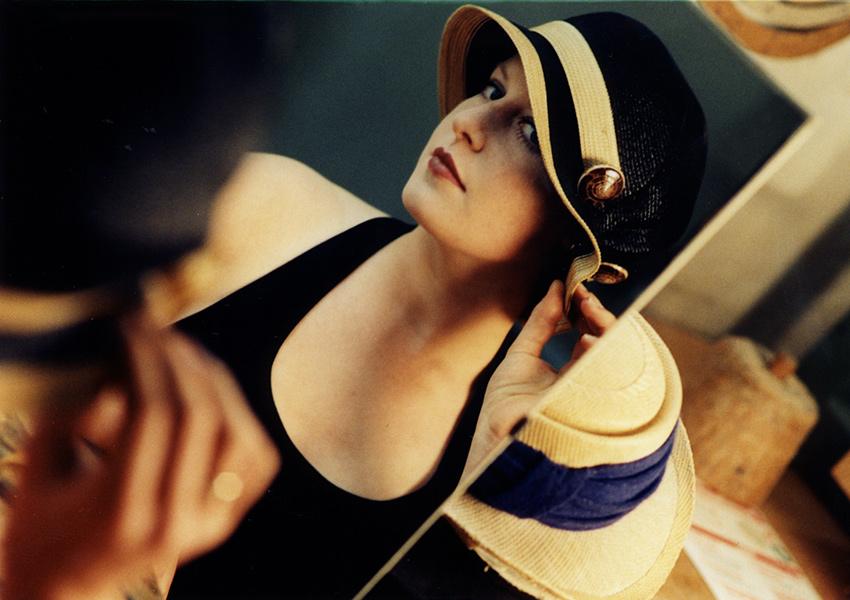Dame mit Hut, Fotografie