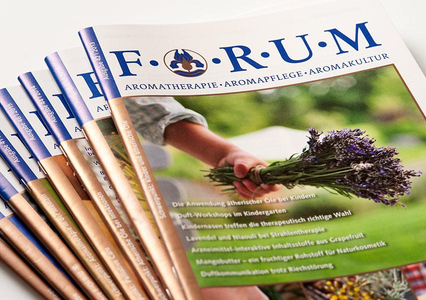 Zeitschrift FORUM Aromatherapie
