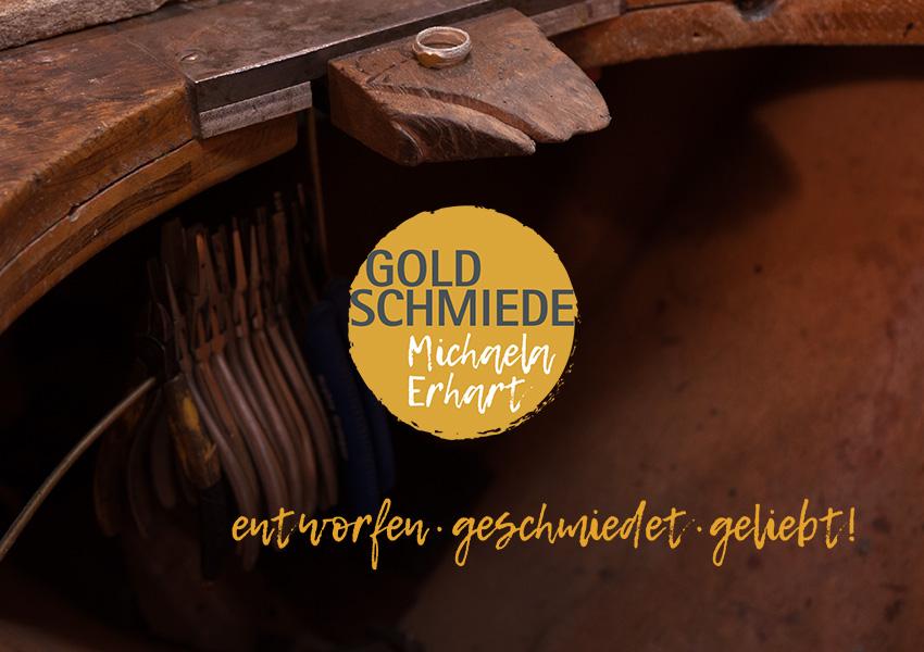 Logoentwurf für Goldschmiedeatelier, Webseitengestaltung und Programmierung