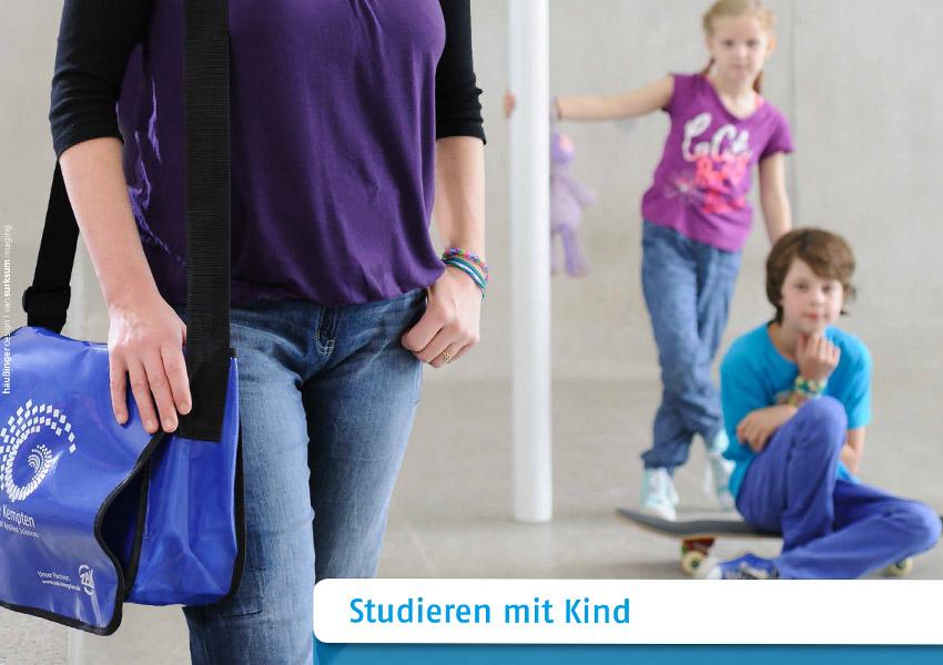 Kampagne Studieren mit Kind