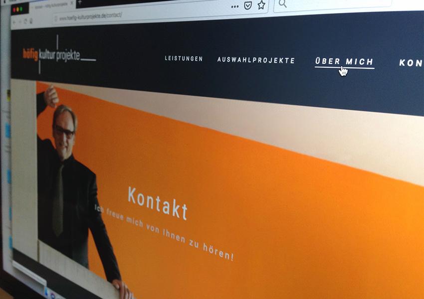 Webseite Christoph Höfig