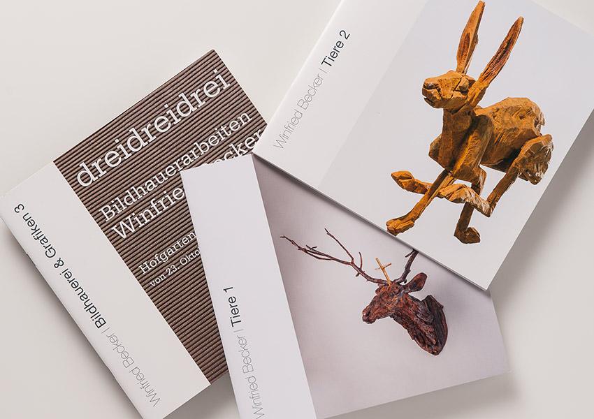 Kataloge Winfried Becker