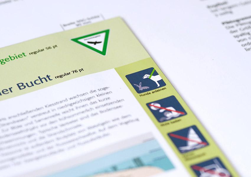 Gestaltung CD-Handbuch Schutzgebiette Bayern